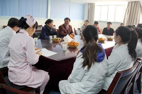 临床医学院 附属医院张志平院长率队到浙江检查学生实习情况