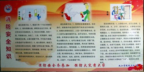 会计学院举行专业学习和消防安全宣传活动-九江学院