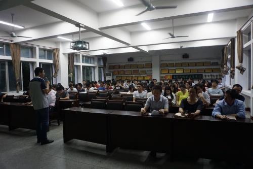学院召开14级考研动员大会