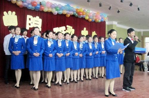 旅游学院班歌大赛唱响青春